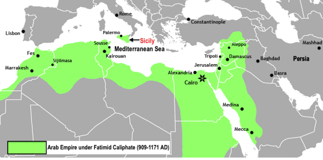 arab-empire-under-fatimid-caliphate
